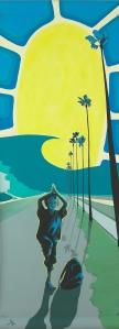 2013 Encinitas Arts Alive Banner Artist: Monika Whisenhunt